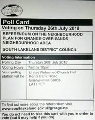 Neighbourhood Plan Referendum